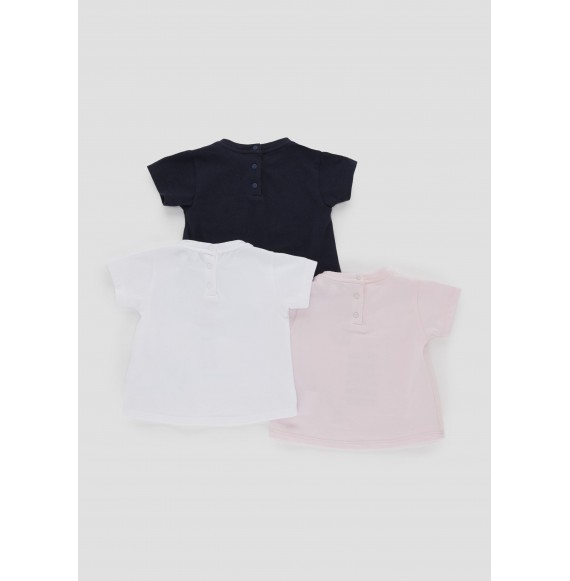 ARMANI - Set 3 t-shirt girocollo con stampa