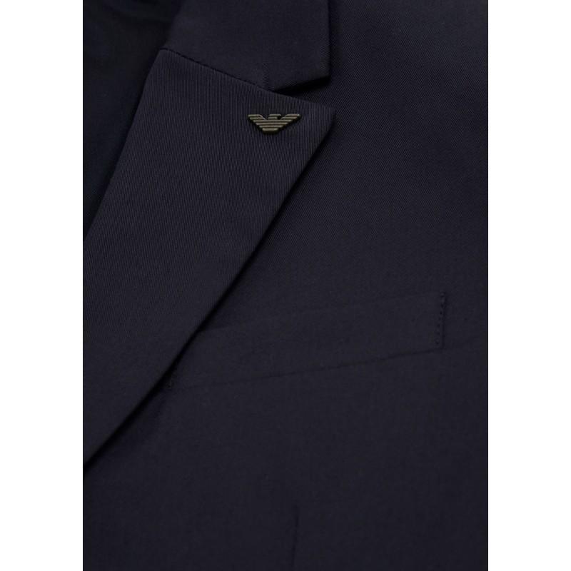 info for e35ab 5ca26 ARMANI - Abito in puro cotone con giacca monopetto