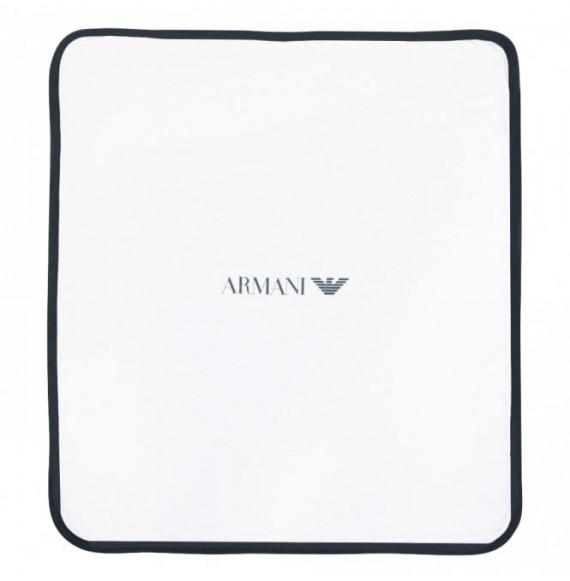 ARMANI - Set regalo con copertina double face e sacco