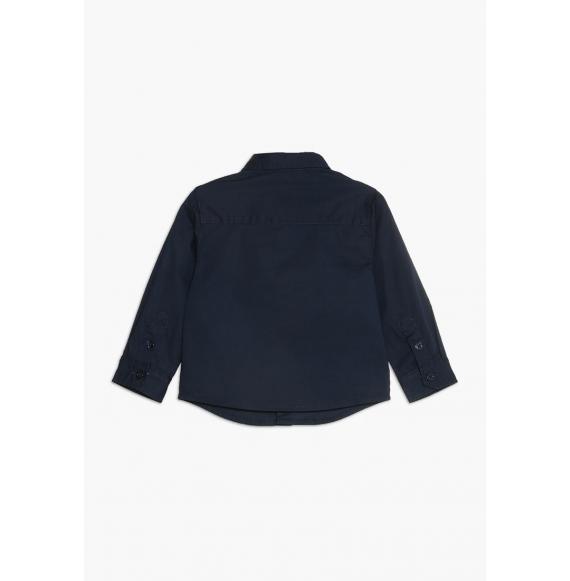 ARMANI - Camicia in cotone manica lunga