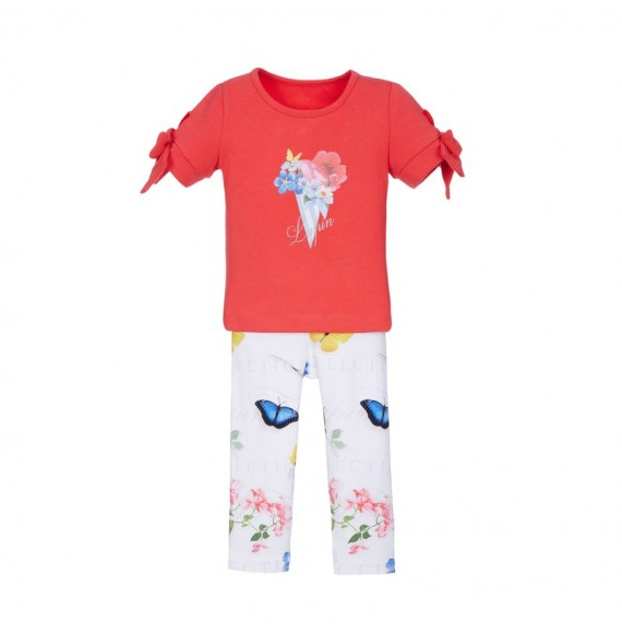 Lapin House - Set t-shirt e leggings fantasia