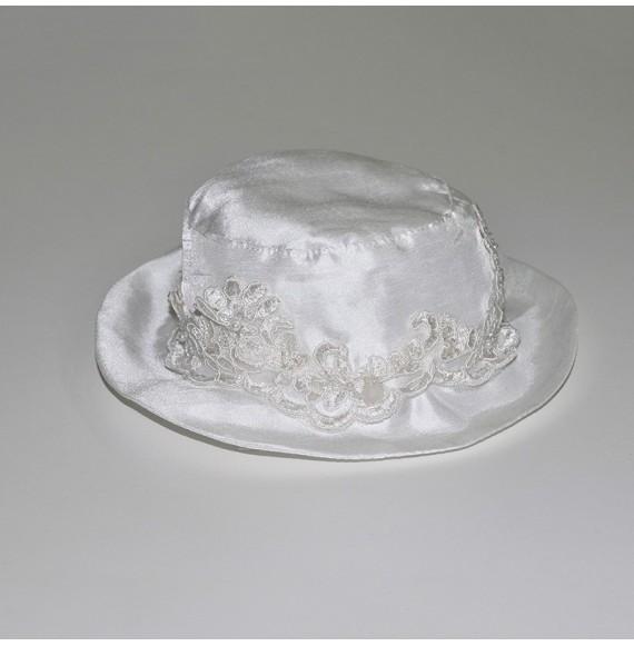 Cappello con fascia e perline