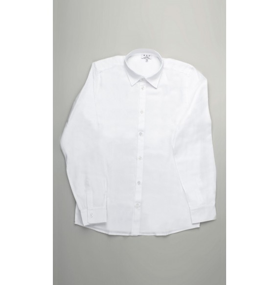 ALETTA - Camicia tinta unita