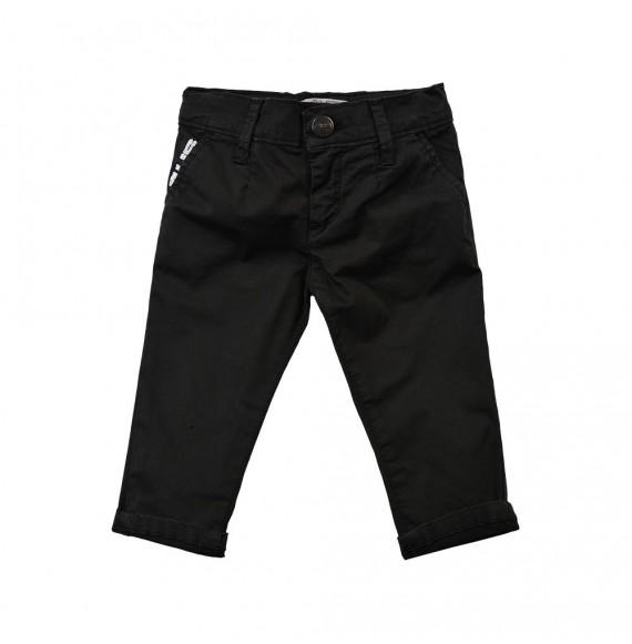 PACIOTTI - Pantalone tasche a filo con ricamo 4US
