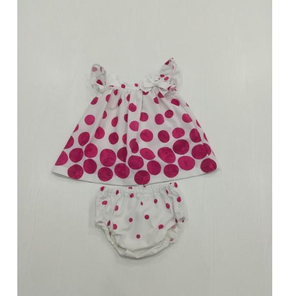 ALETTA - Abito fantasia bolle con coulotte