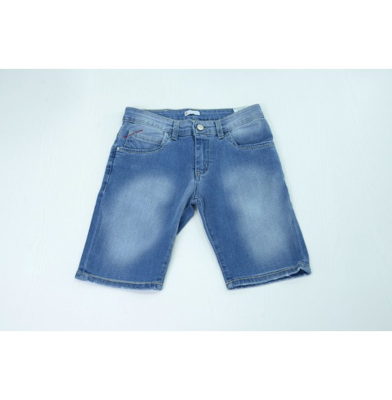 Peuterey - Bermuda 5 tasche in jeans delavé