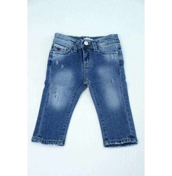 Peuterey - Jeans 5 tasche delavé