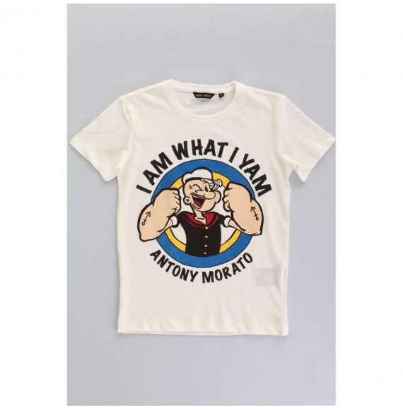 Antony Morato - T-shirt girocollo con stampa Popeye
