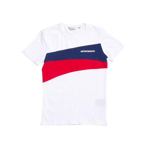 Antony Morato - T-shirt girocollo tricolore