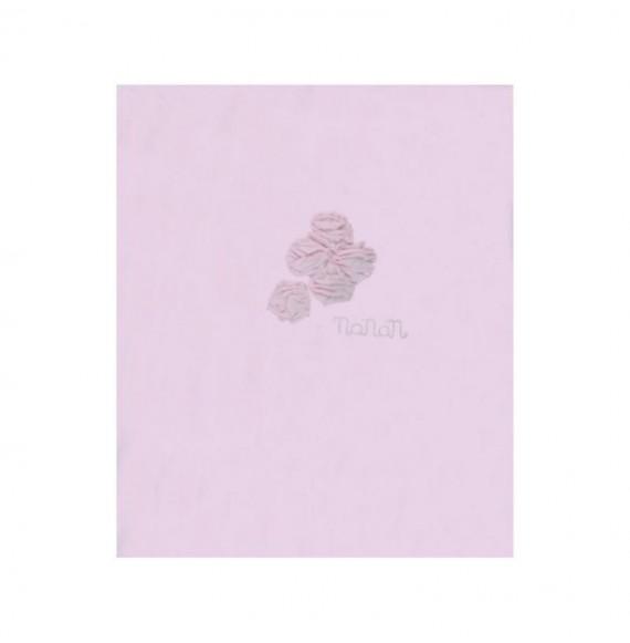 Nanan - Copertina in cotone con rose