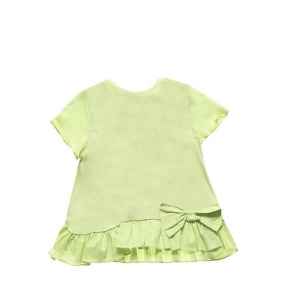 Nanan - Maxi t-shirt con fiocco e rouches