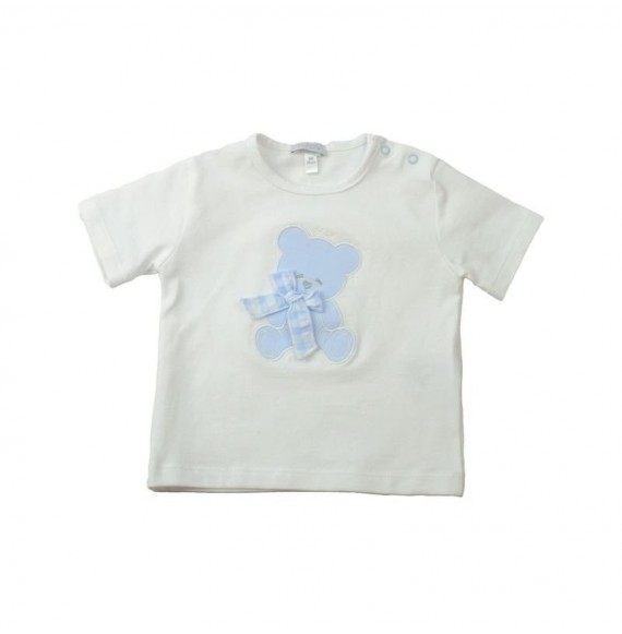 Nanan - T-shirt con orso