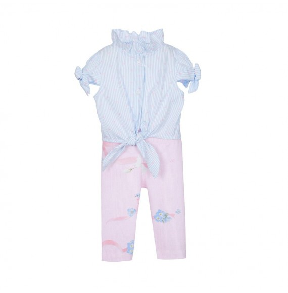 Lapin House - Set camicia e leggings fantasia