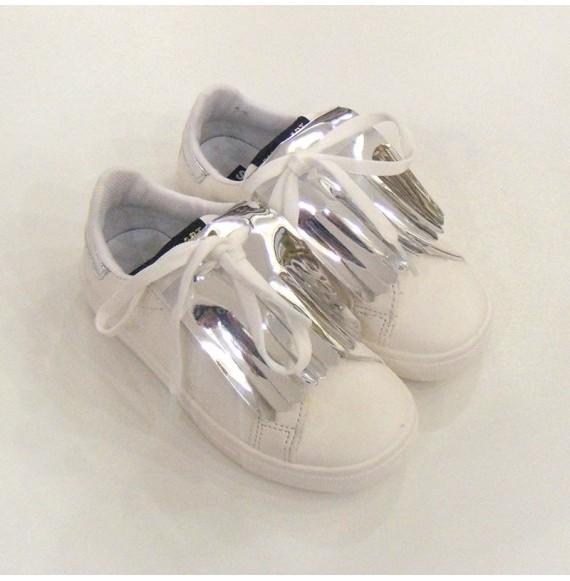 Sneakers con frangia