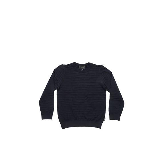 ARMANI - Pullover girocollo logato