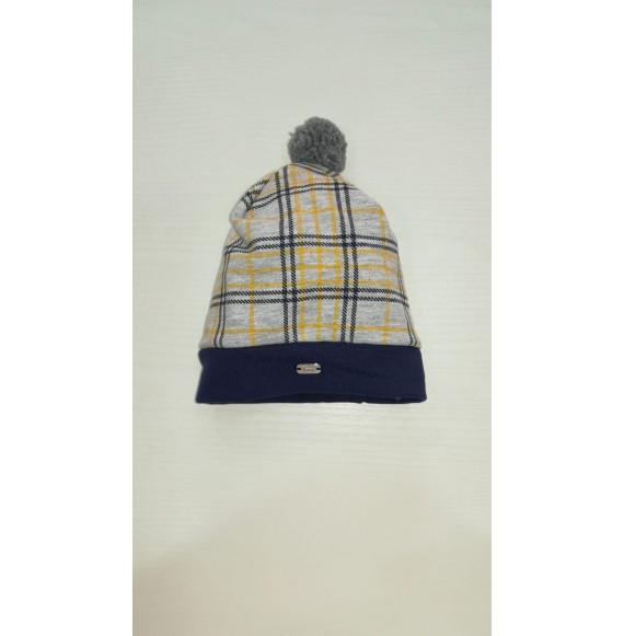 NINNAOH - Cappellino in felpa stampa quadri