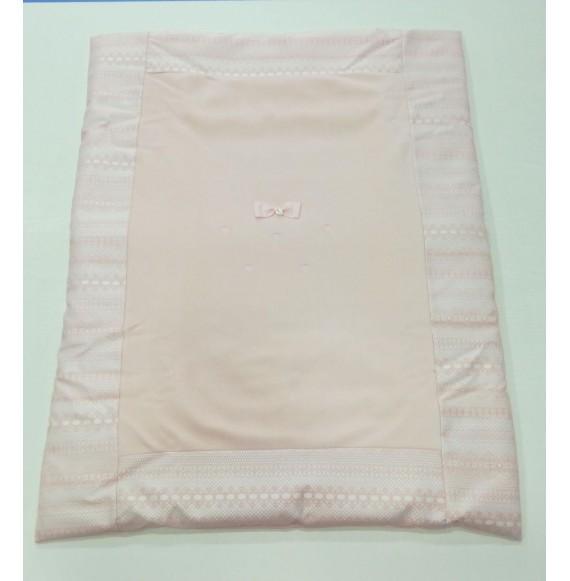 NINNAOH - Copertina sacco in ciniglia con fiocco