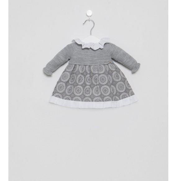 Juliana - Vestina in maglia e tessuto