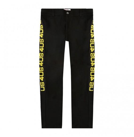 CESARE PACIOTTI - Pantalone punto millano con nastro logato