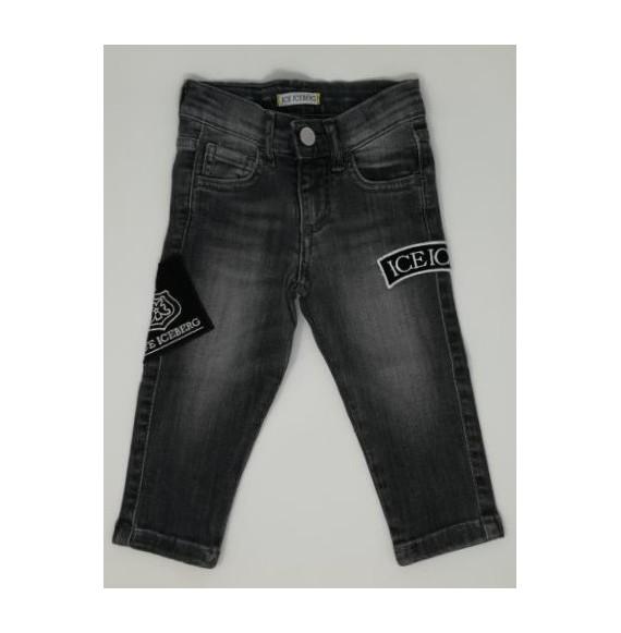 Iceberg - Jeans délavè con patch
