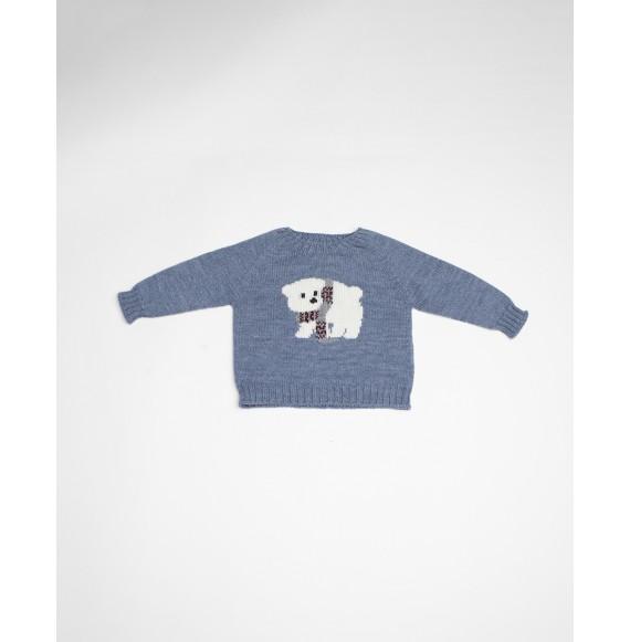 Fina Ejerique - Pullover girocollo con orsetto