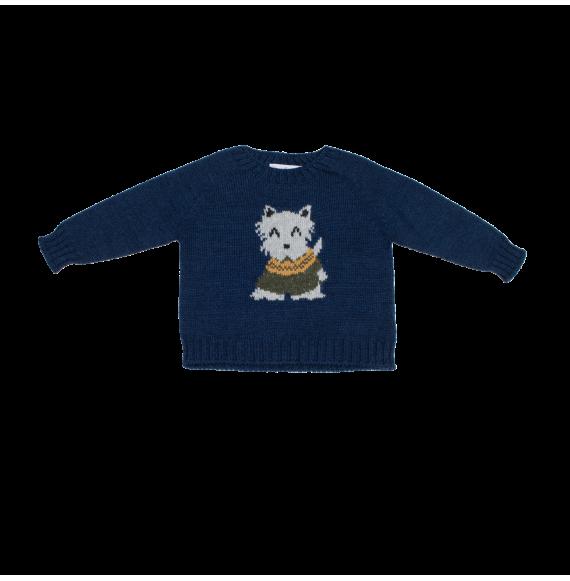 Fina Ejerique - Pullover girocollo con cagnolino