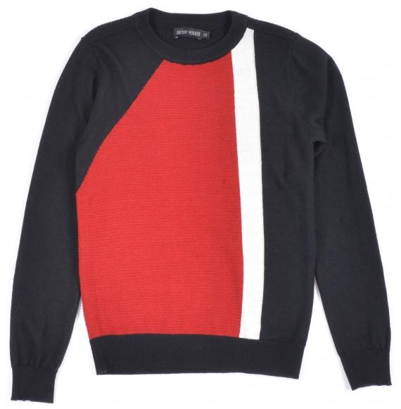 ANTONY MORATO - Pullover girocollo tricolore