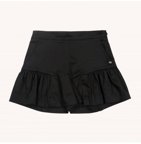 Gonna pantalone con rouches